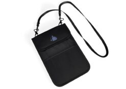 Faraday Pouch: ConcealShield Anti-Tracking, Anti-Spying, Privacy Travel Bag – EMF, RFID, GPS, FOB Signal Blocking Bag for Credit Cards and Passport