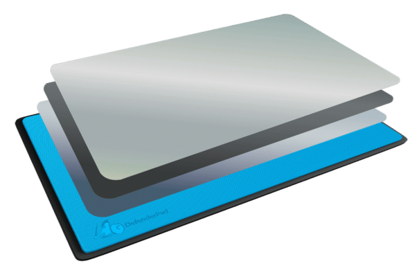 DefenderPad multiple layers of shielding technology
