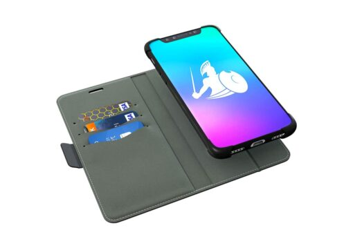 iPhone X / XS - EMF Radiation Shield & RFID Blocker - Detachable Magnetic  Wallet Case