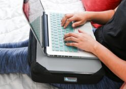 DefenderShield Pillow for use with DefenderPad Laptop Shield