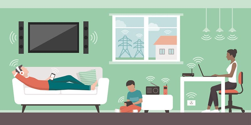 Electromagnetic Fields (EMFs) in the Home