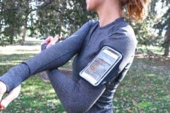DefenderShield EMF Radiation Protection Cell Phone Running Armband