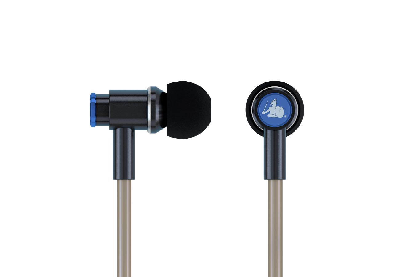 Emf Radiation Free Air Tube Stereo Earbud Headphones Defendershield
