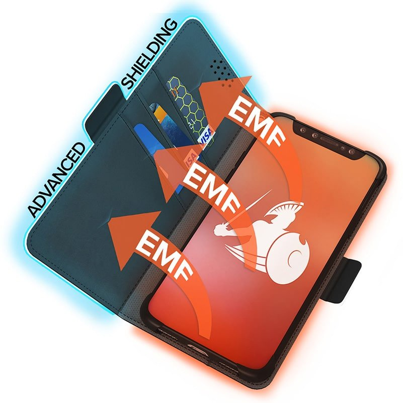 DefenderShield EMF Radiation Protection Universal Phone Case