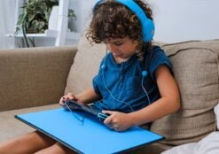 DefenderShield EMF Radiation Protection Kids Headphones