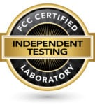 Medallion FCC Certified Lab Tested
