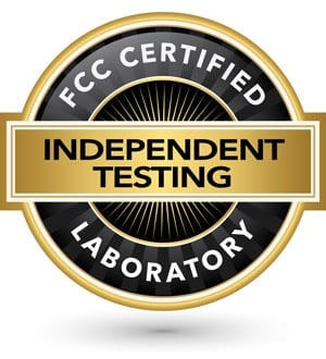 FCC Certified Independent Laboratory Testing