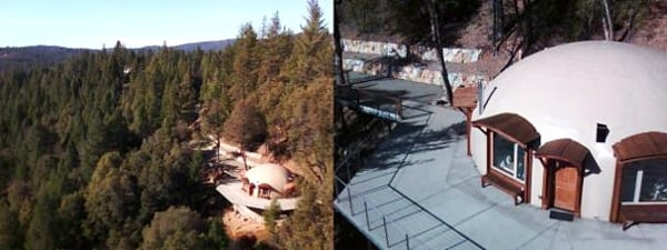 EMF Free Zones: The Quiet Dome – Grass Valley, California